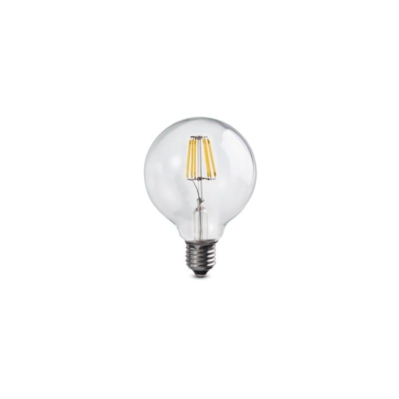 Ampoule filament led e27 6 watts globe