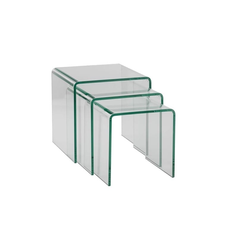 Table gigogne Source en verre