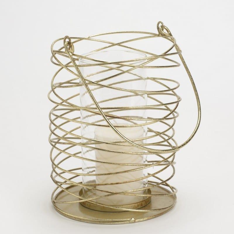 Photophore Spirale Or – Amadeus