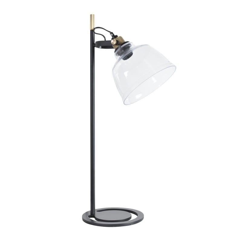 Lampe industrielle noir mat et laiton Lord – Market set