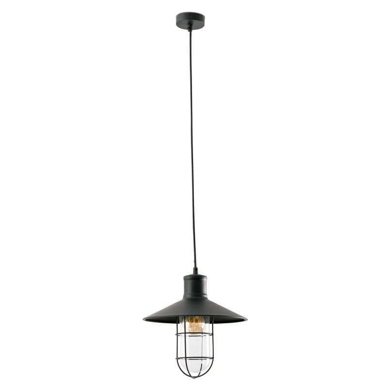 Suspension industrielle noire Marina – Faro