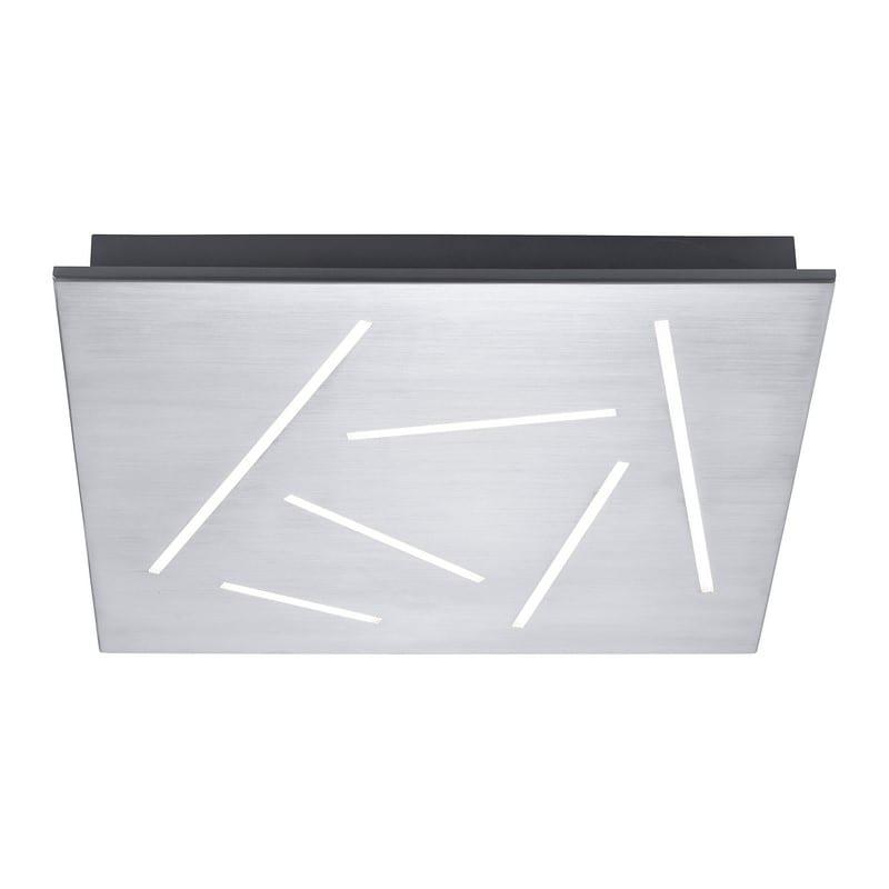 Plafonnier connecté en aluminium Q-leo – Paul Neuhaus