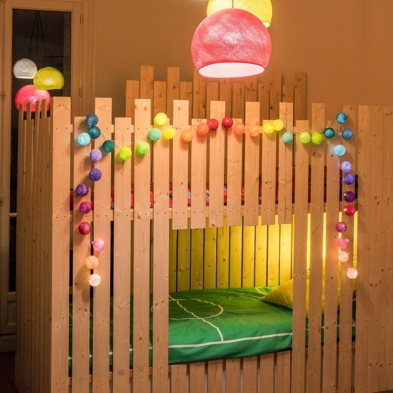 Guirlande lumineuse boule led premium Jimi – La case de cousin paul