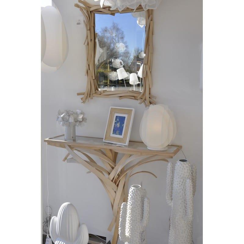 Grand miroir Agathe en bois massif – Limelo design
