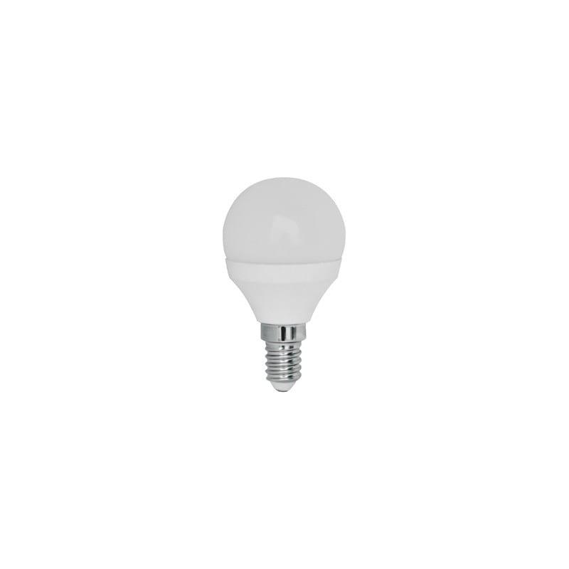 Ampoule led sphérique E14 5.3 watts 3000k