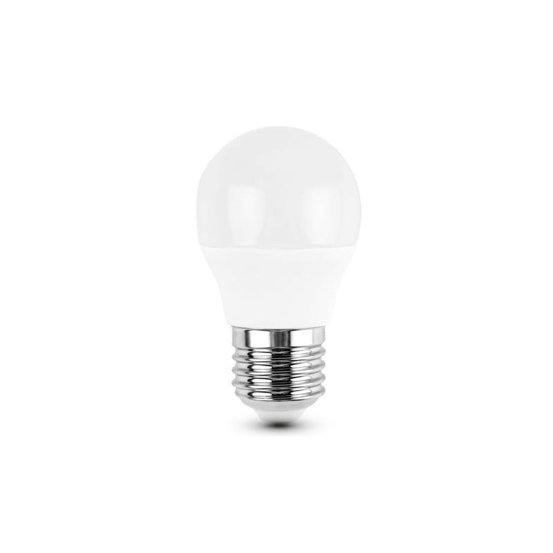 Ampoule led sphérique E27 6 watts 3000k