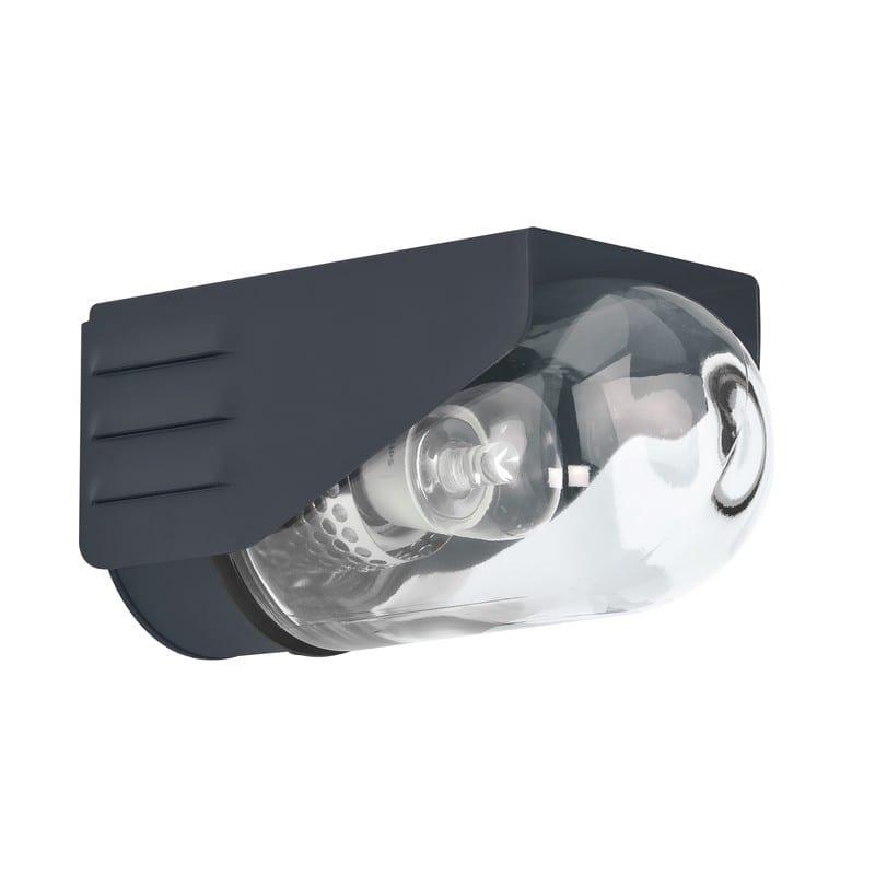 Applique extérieure RP195 gris anthracite verre clair petit modèle