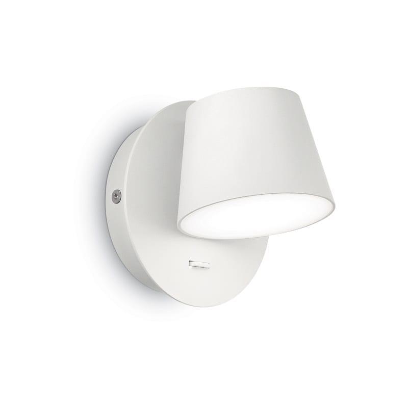Applique led avec interrupteur Gim blanche – Idéal lux