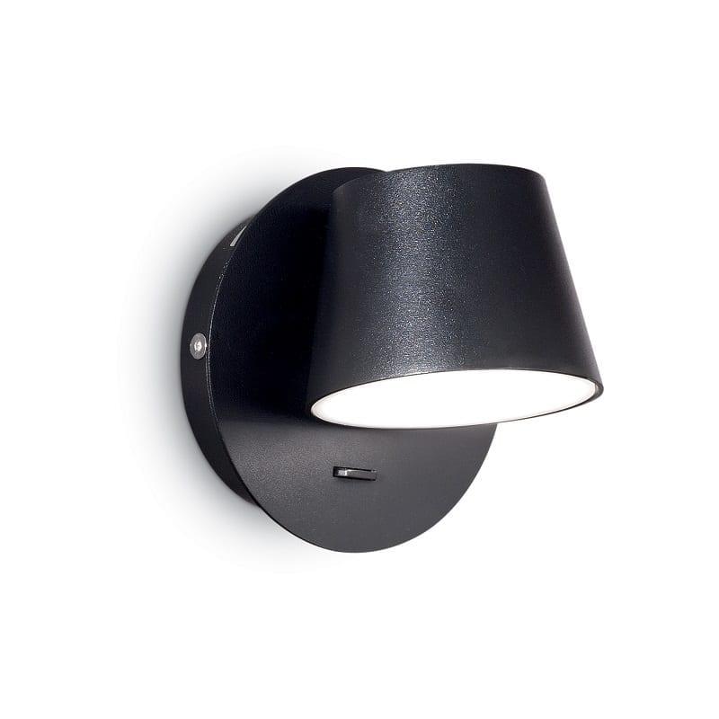Applique led avec interrupteur Gim noire – Idéal lux