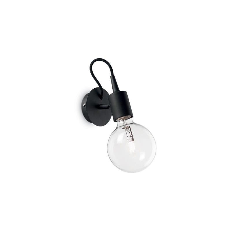 Applique murale ampoule noire Edison – Idéal lux