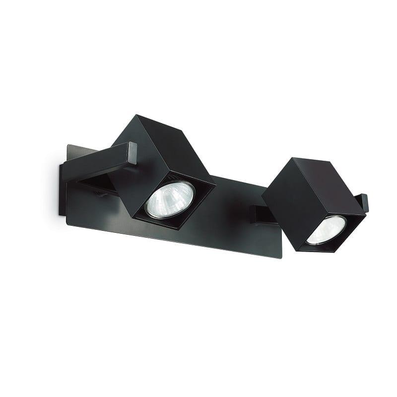 Applique spot 2 lumières Mouse noir