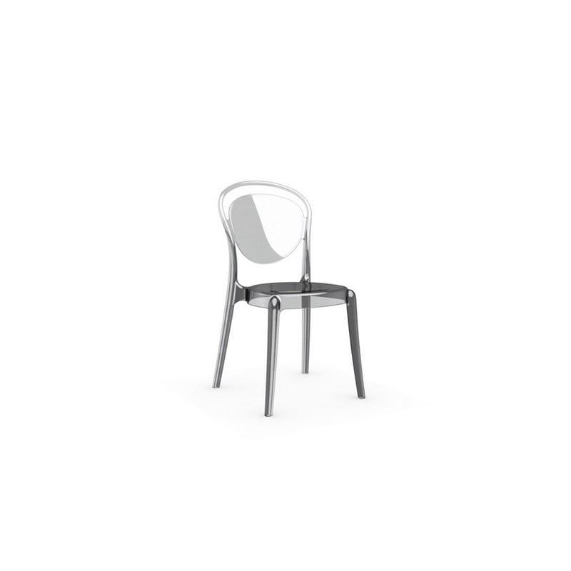 Chaise en polycarbonate Parisienne transparente – Calligaris