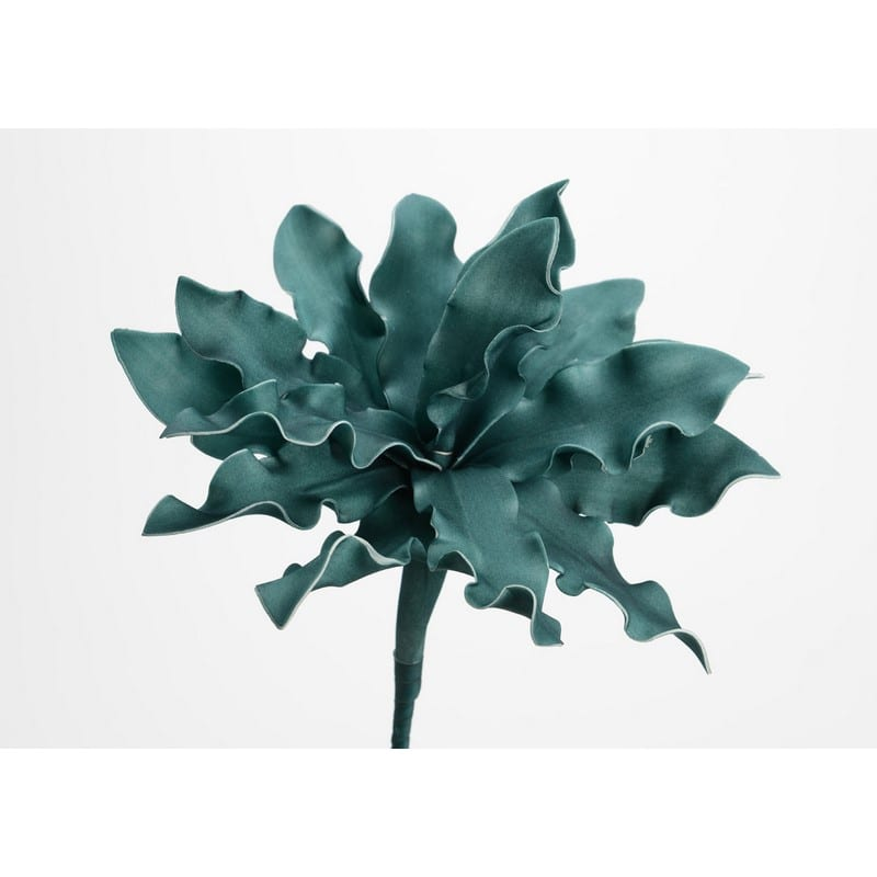 Fleur artificielle Cumbia emeraude 54 cm – Amadeus