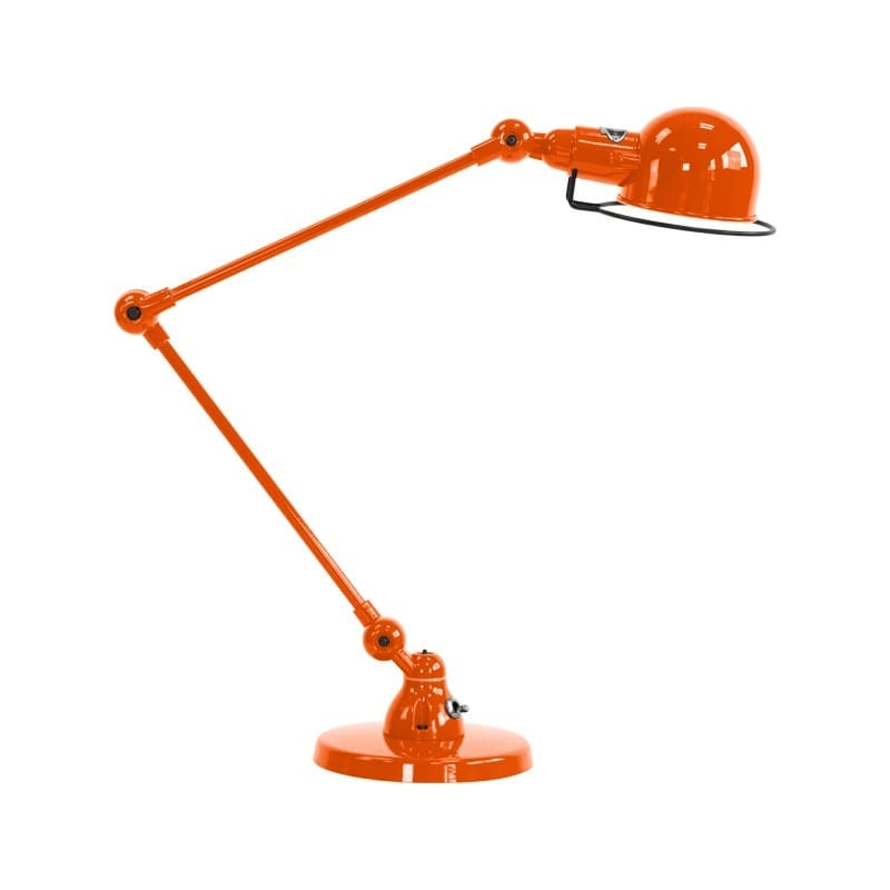 Lampe industrielle Signal SI333 orange brillant Jieldé
