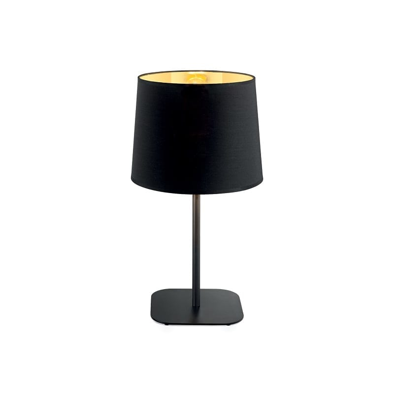 Lampe à poser contemporaine noire Nordik – Idéal lux