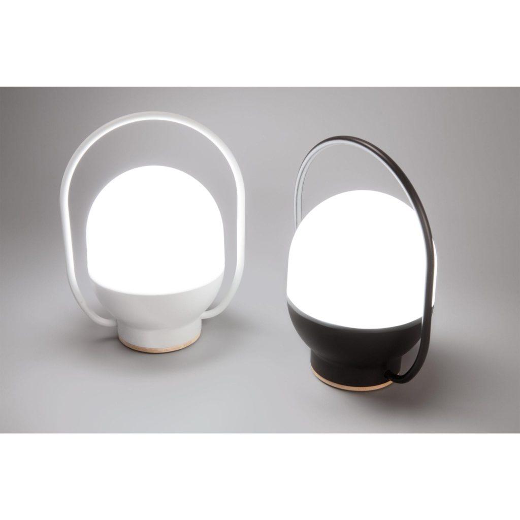 Lampe baladeuse led noire Take Away  – Faro