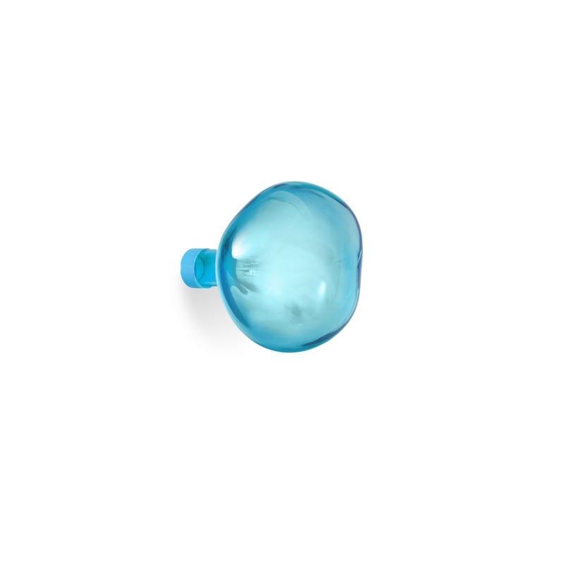 Patère Bubble verre soufflé bleu grand modèle – Petite Friture