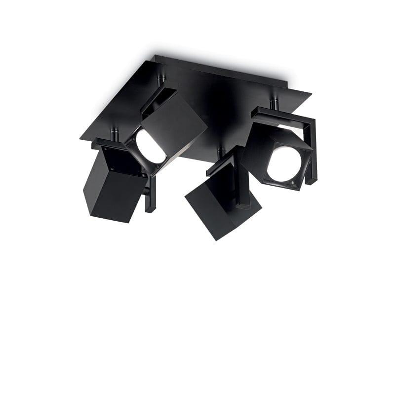 Plafonnier spot 4 lumières Mouse noir