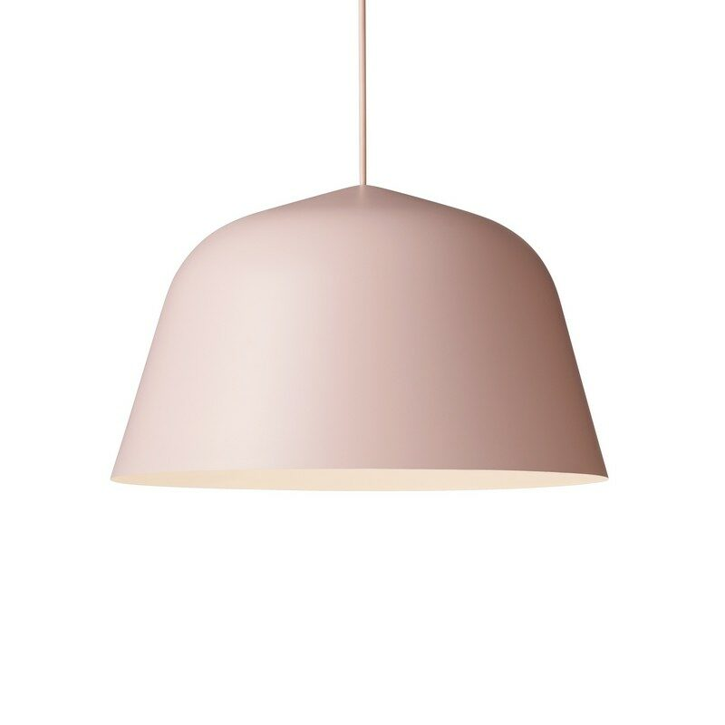 Suspension coupole design Ambit rose 40 cm – Muuto