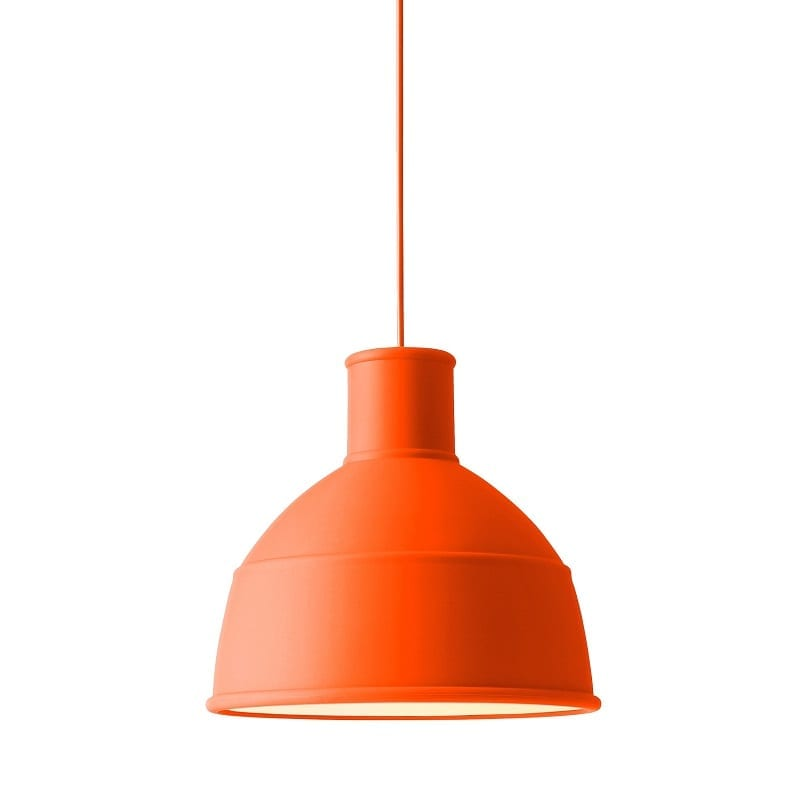 Suspension Unfold orange en silicone