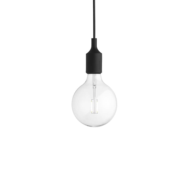 Suspension Muuto E27 led noir