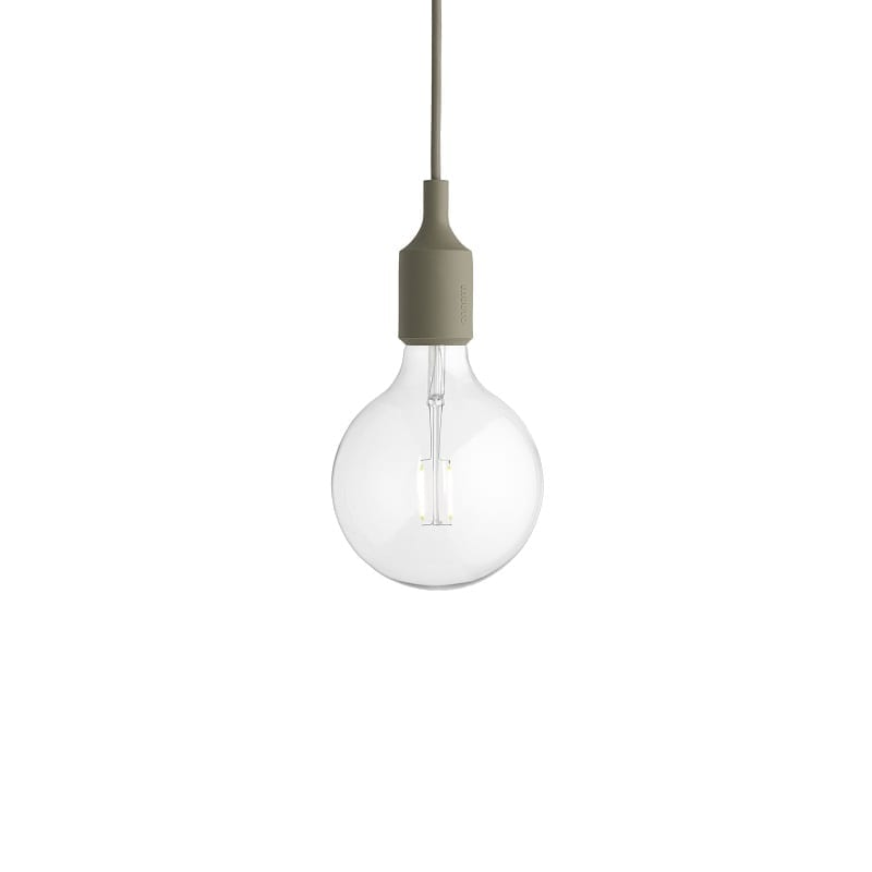 Suspension Muuto E27 led olive