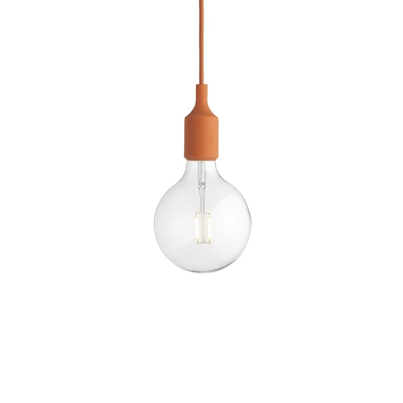 Suspension Muuto E27 led orange
