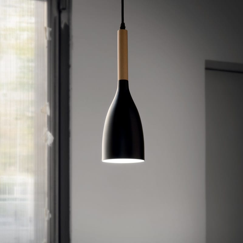 Suspension conique scandinave Manhattan – Idéal lux