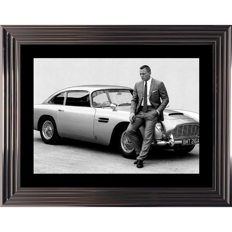 Tableau Daniel Craig dans James Bond – Cadr'aven