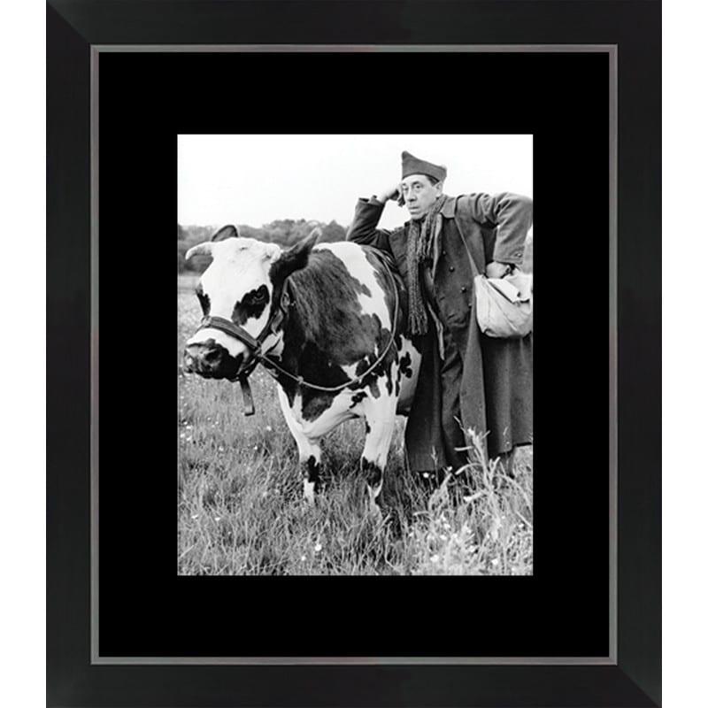 Tableau La vache et le prisonnier – 40×46 cm – Cadr'aven