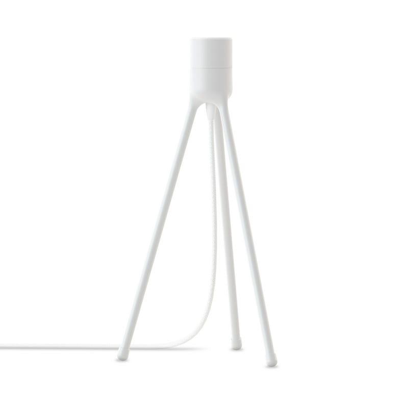 Trépied de table E27 blanc