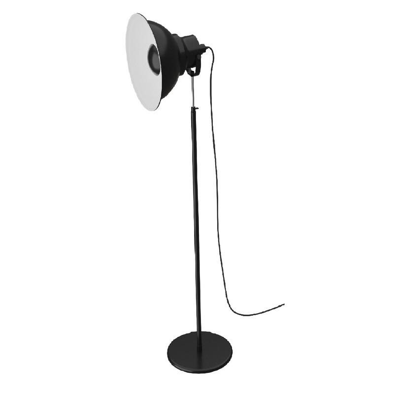 Lampadaire Projecteur Reflex 2 noir