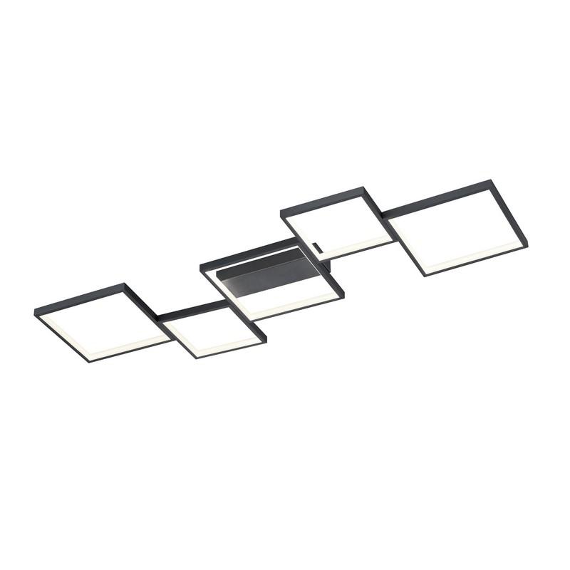 Plafonnier Sorrento noir mat led