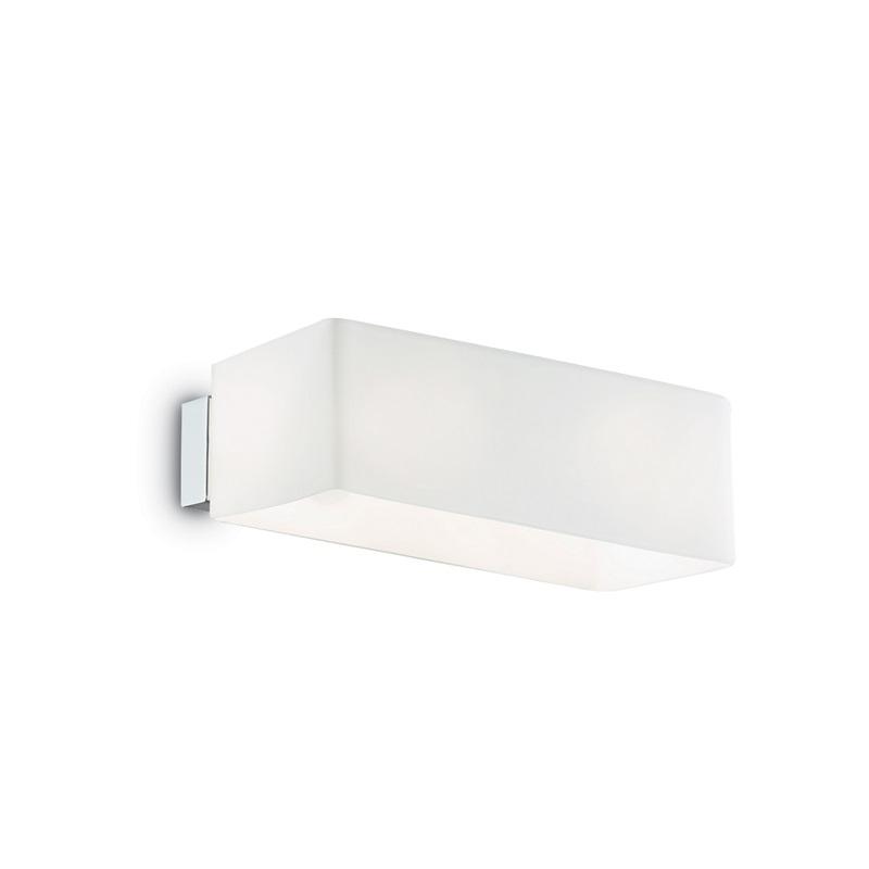 Applique murale rectangulaire Box blanche