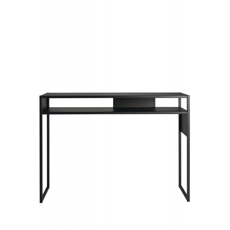 Console Arlequin noire 90 cm