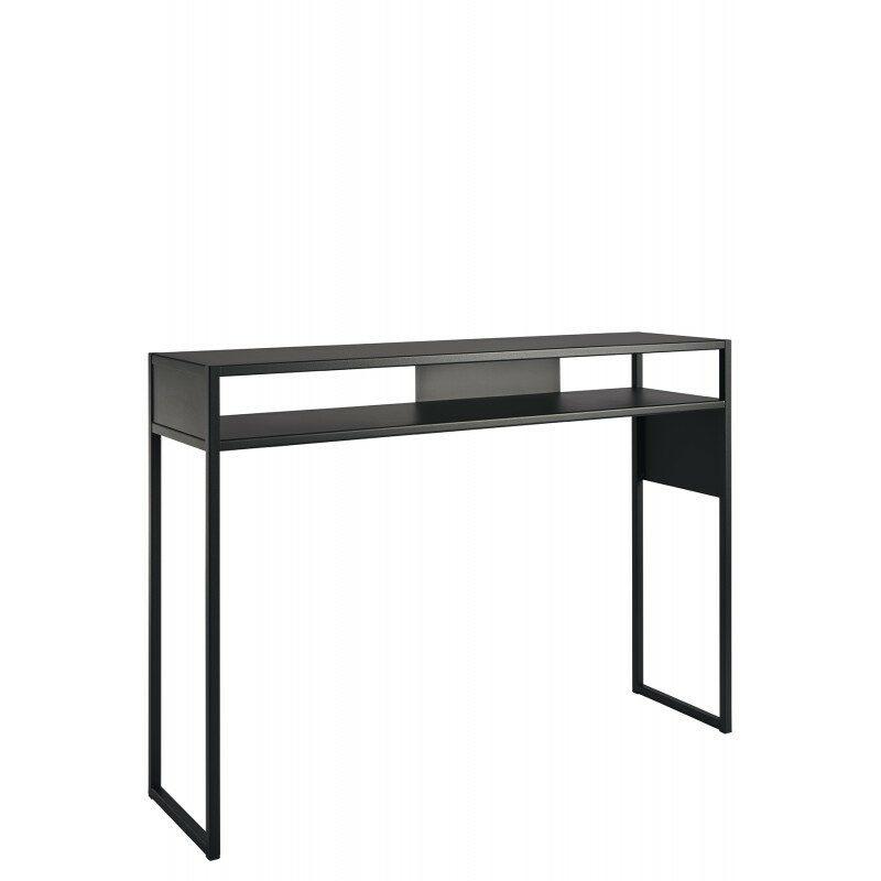 Console Arlequin noire 120 cm