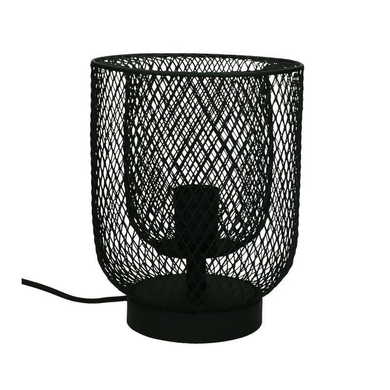 lampe de table Kabu en fer noire