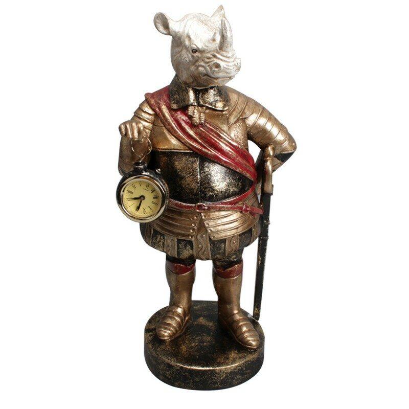 Statue Rhinocéros 40 cm