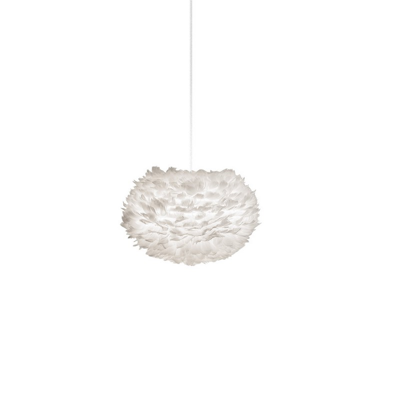 Abat-jour Eos medium blanc 45 cm – Umage (Vita coopenhague)