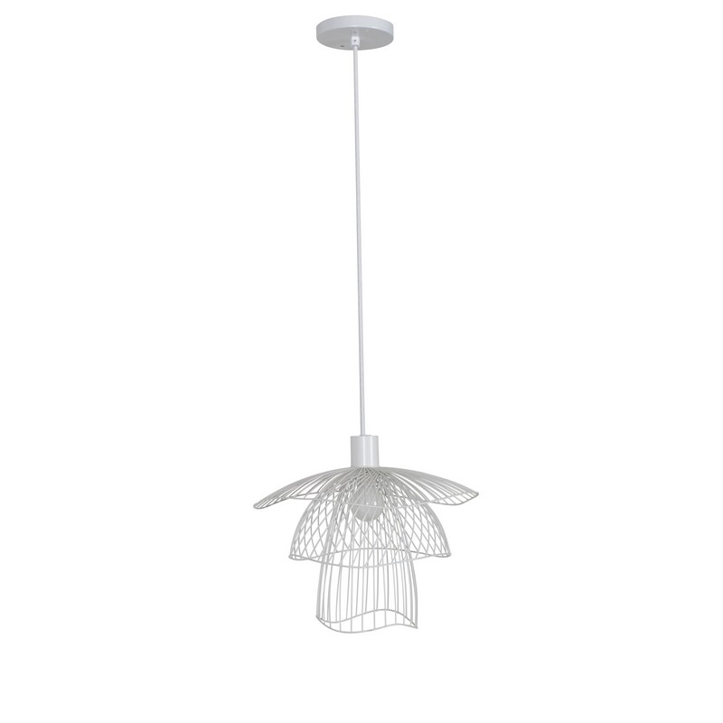 Suspension Papillon blanche Elise Fouin d.30 cm Forestier