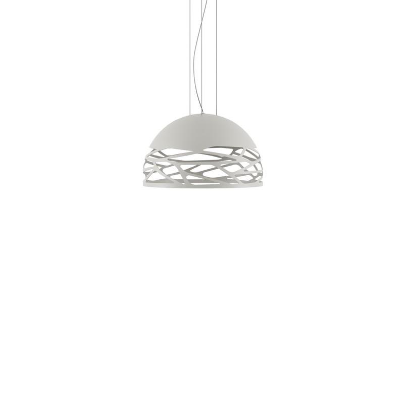 Suspension Studio Italia Kelly blanche dôme 50 cm