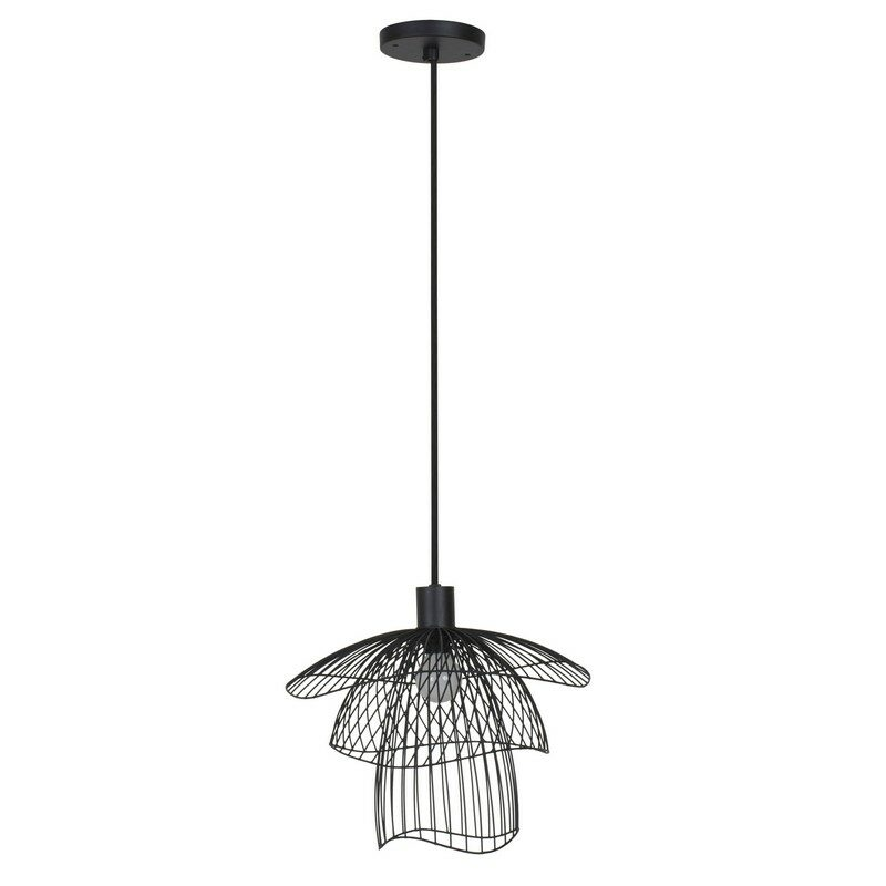 Suspension Papillon noire Elise Fouin d.30 cm Forestier