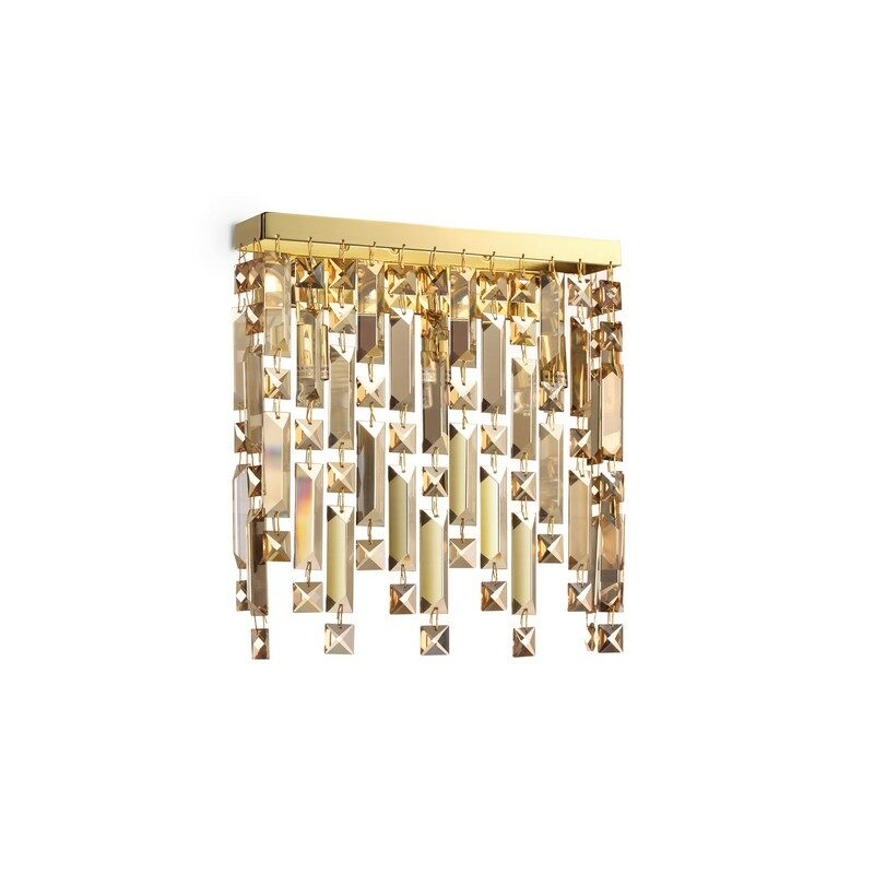 Applique pampilles Elisir dorée 3 lumières