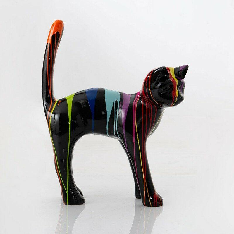 Chat Trash noir 115 cm