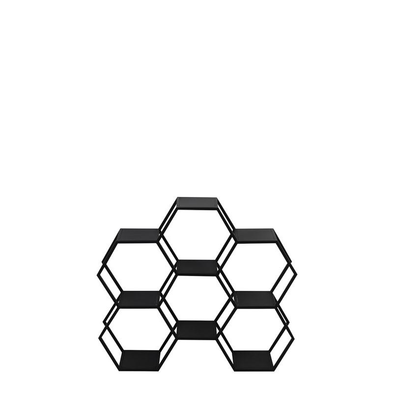 Étagère Hual noir mat