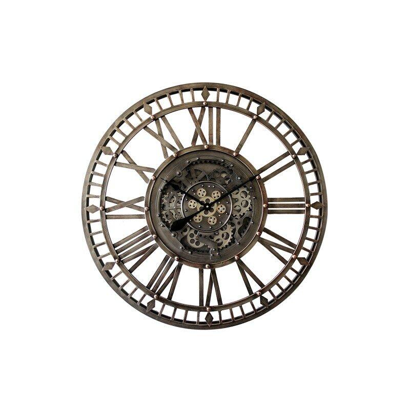 Horloge à engrenages 90 cm
