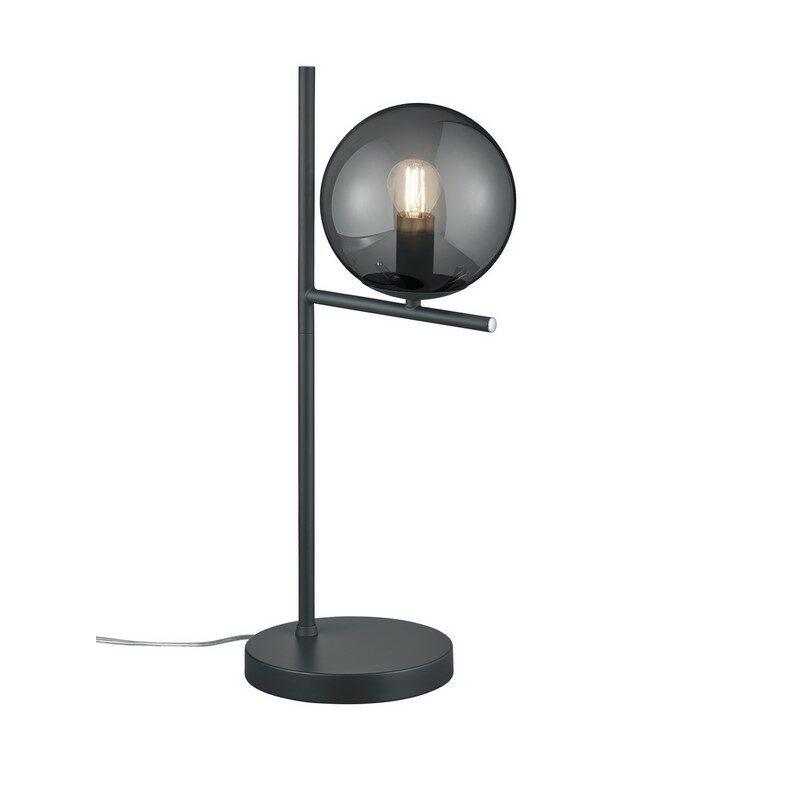 Lampe à poser Pure 1 lumière gris anthracite