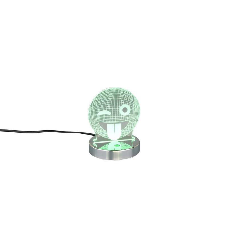 lampe led Smiley RGB