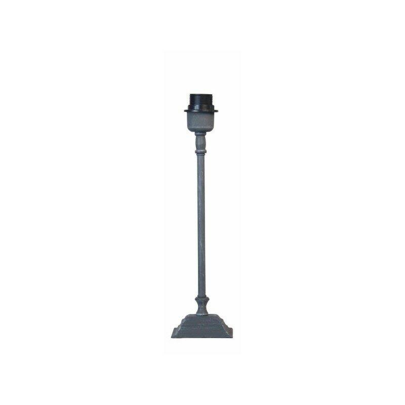 Pied de lampe gris anthracite 40 cm