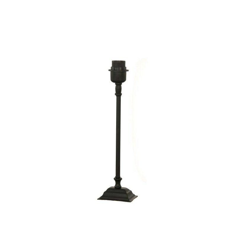Pied de lampe noir 40 cm